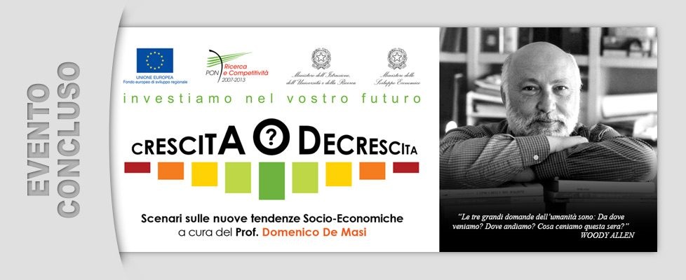 Talk Prof. Domenico De Masi (23/07/2013)