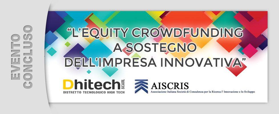 L'Equity crowdfunding a sostegno dell'impresa innovativa (19/09/2014)
