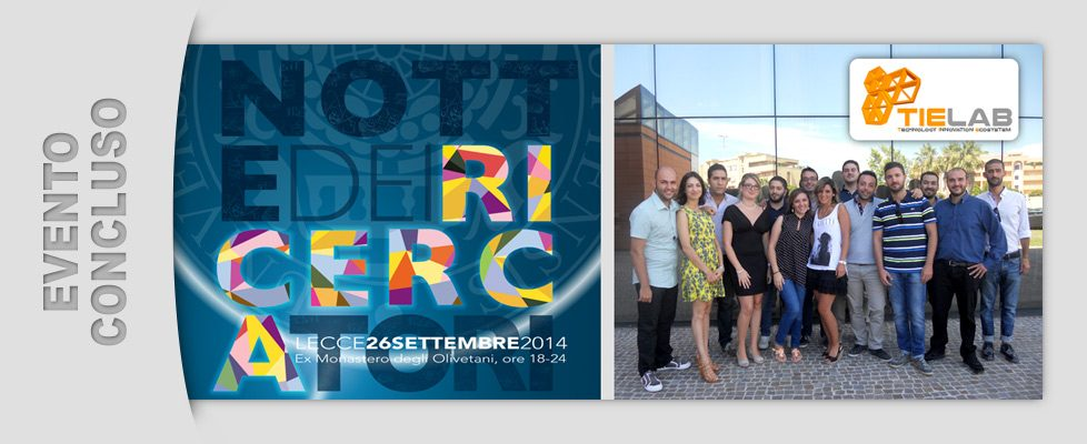 TIE Living Lab alla Notte dei Ricercatori (26/09/2014)