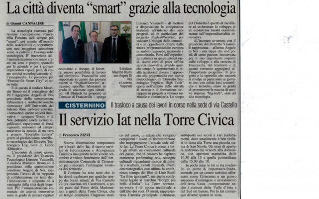 Nuovo Quotidiano di Puglia 19-11-14