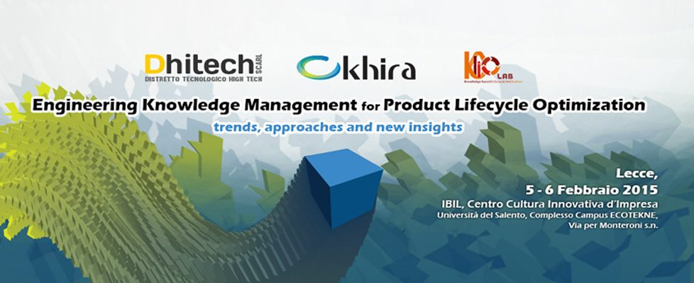 Dhitech-Engineering-Knowledge-Management-for-product-lifecycle-optimization-workshop-lecce-2015